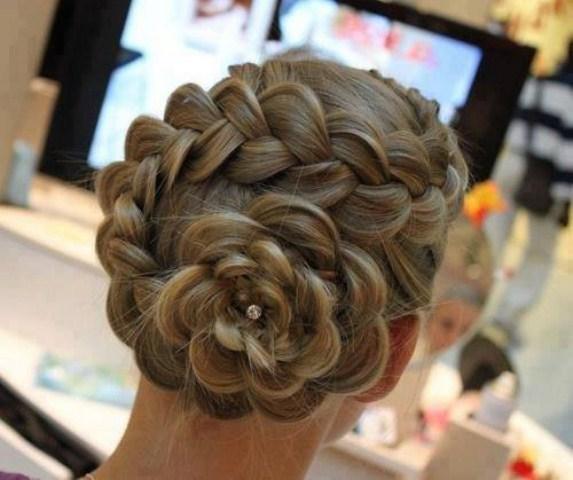 UK Western Bridal Trendy Hair Styles 2013-2014 (1)