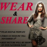 Women Formal Wear Dress Collection 2013-14 by Deepak Perwani