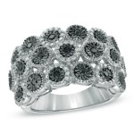New Zales Black Diamond Rings Collection