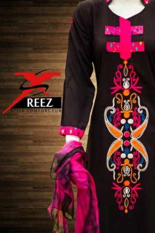 XSReez Latest Winter Wear Women Party Dresses Collection 2013-14 (2)