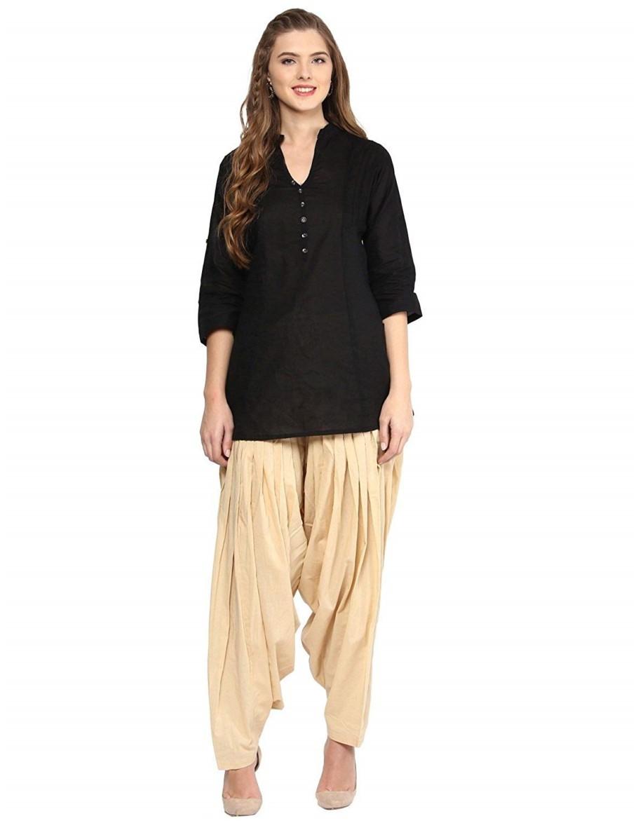short kurti with churidar pajama