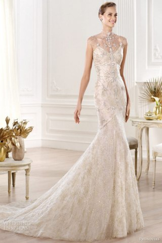 Altelier Pronovias Wedding Gowns and Bridal Collection 2014 (3)