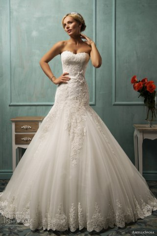 AmeliaSposa latest wedding gowns