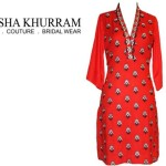 Ayesha Khurram Embroidered Kurta Collection Women Style (6)