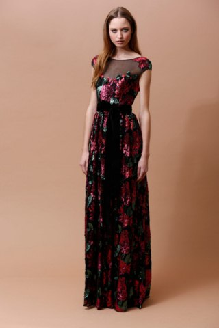 women elegance pre fall dresses Badgley Mischka