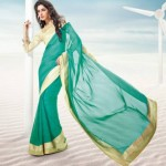 Bollywood Movie Rajkumar Saheli Couture Elegance Stylish Luxury Saree (5)
