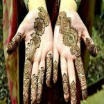 Bridal latest mehndi designs