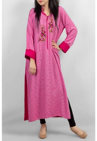 Grapes latest winter elegance winter kurta collection 2014-15