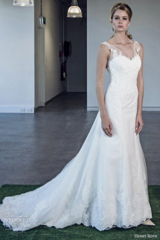 Henry Roth Latest Bridal Dresses Collection 2014 (5)