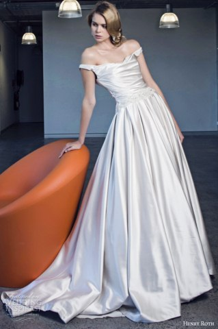 Henry Roth wedding Bridal Dresses Collection 2014 (3)