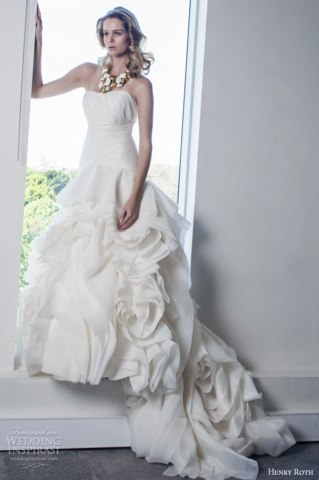 Henry Roth Latest Bridal Dresses Collection 2014 (6)
