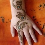 Fresh indian mehndi style