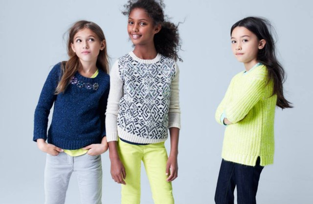 bba3e941215d J.Crew Winter Sweater Kids Collection 2014