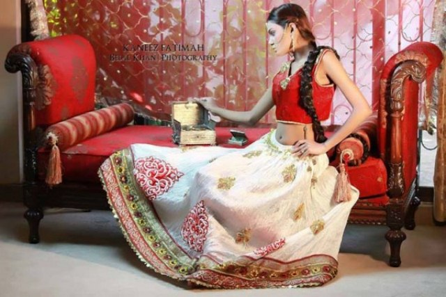Kaneez Fatimah Stylish Formal Bridal Collection 2013-14 (9)