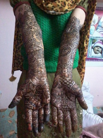 Henna Mehndi Designs New Book For 2014-2015