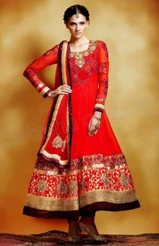 Latest Unstitched Suits Collection 2013-14 For Women By Anarkali Royal Style (12)