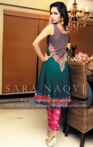 Rangoli Wedding Suits Collection by Sara Naqvi (6)