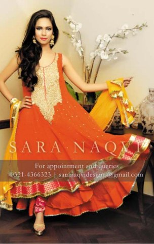 Rangoli Wedding Suits Collection by Sara Naqvi (7)