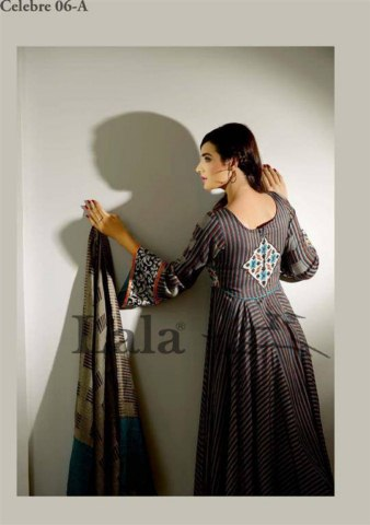 Sana and Samia Celebre Woolen Shawl Collection 2013-14 by lala textile (8)