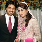 Tv Drama Actor Babar Khan Wedding Pictures with Sana Khan (12)