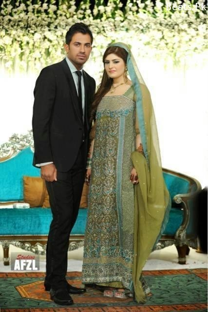 Bowler Wahab Riaz Wedding Pictures