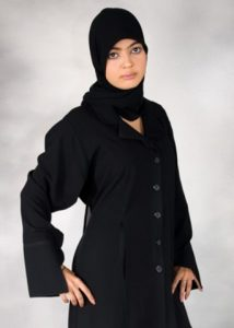 Black Color Abayas Amazing Designs Islamic Dresses 2014 (3)