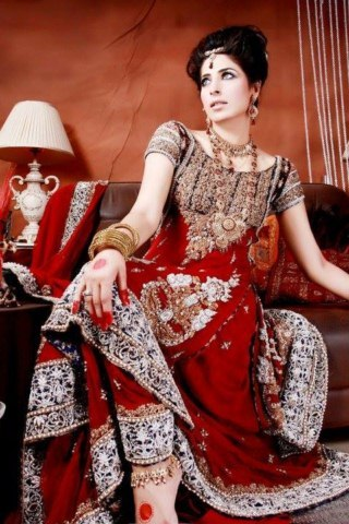 Fresh Pakistani and Indian Wedding bridal dresses