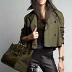 Ralph Lauren Black Label Fashion Italy Latest Military Women Style 2014 (1)