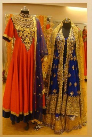 Pakistani Indian waleema dresses 2014-2015