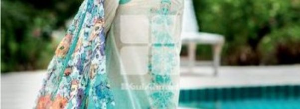 Gul Ahmed latest lawn spring summer suits 2014