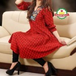 NazJunaid latest women summer dresses 2014