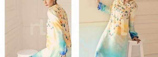 fresh eid ul fitr lawn dresses for women 2014