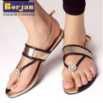 Borjan shoes collections 2014 for eid