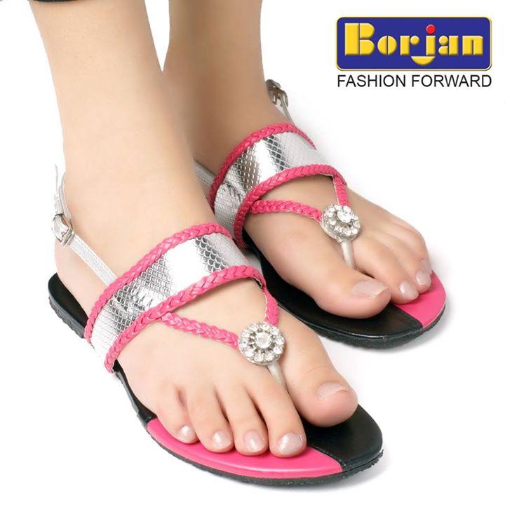 Borjan Crescent Eid Footwear Collections 2014 For Girls