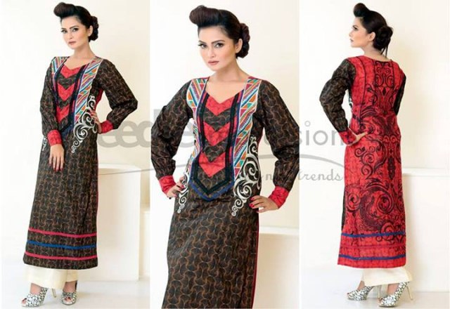 Latest eid collection for women Needle Impressions