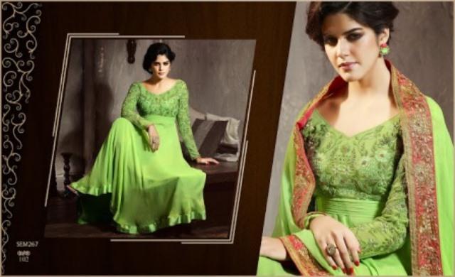 Newest Anankali fashion frocks 2014