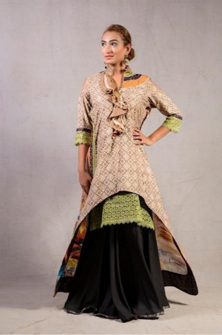 Pink Chiffon latest formal collection 2014