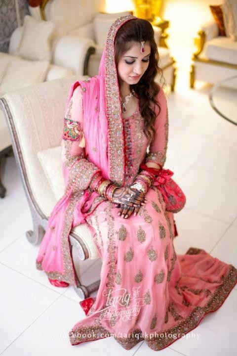 Beautiful Pakistani Nikkah Dresses