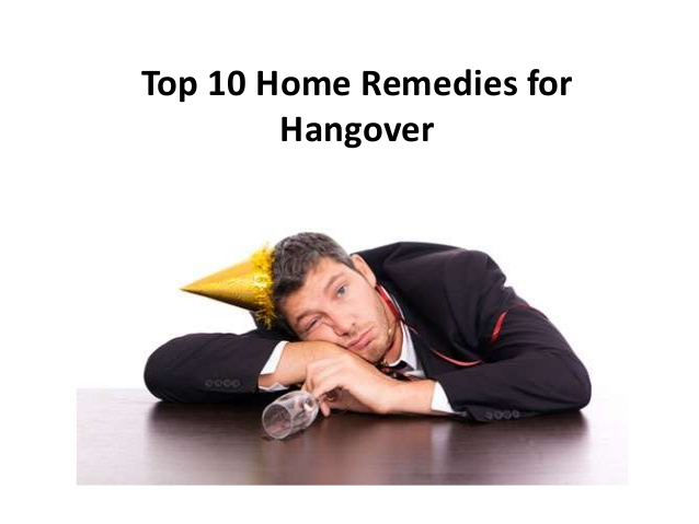 How to save from hangover