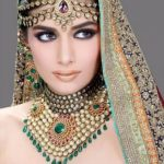 Bridal makeup and Jewelry designs
