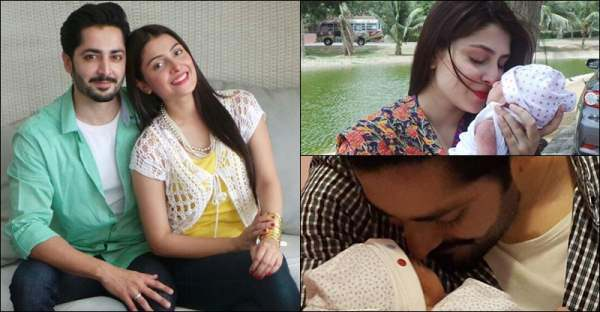 Pakistan Actress has gotten a baby girl.