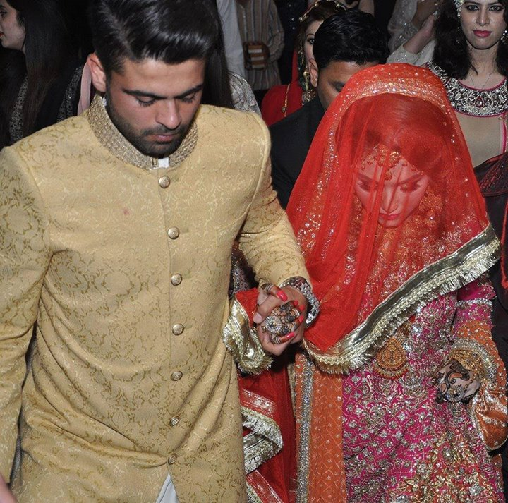 Latest wedding pictures of Ahmad Shehzad