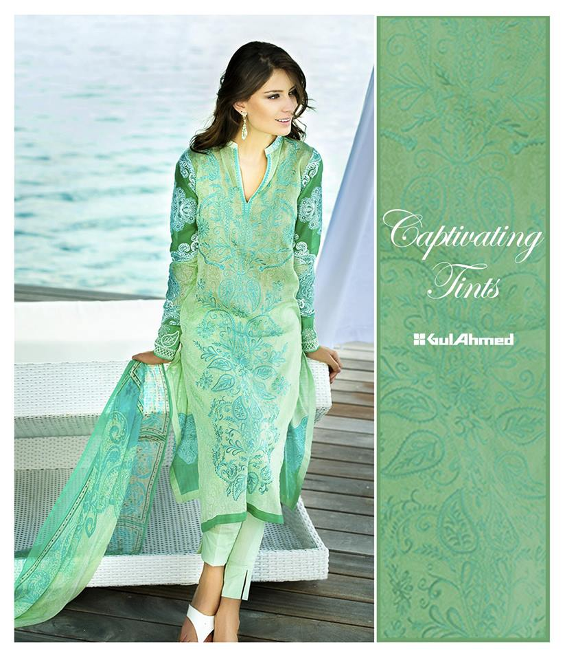 Gul Ahmed 2016 lawn collection