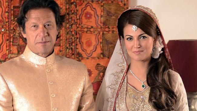Divorced of Reham Khan