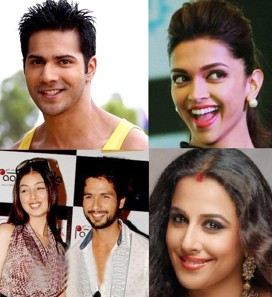 The bollywood actresses start career with commercials.