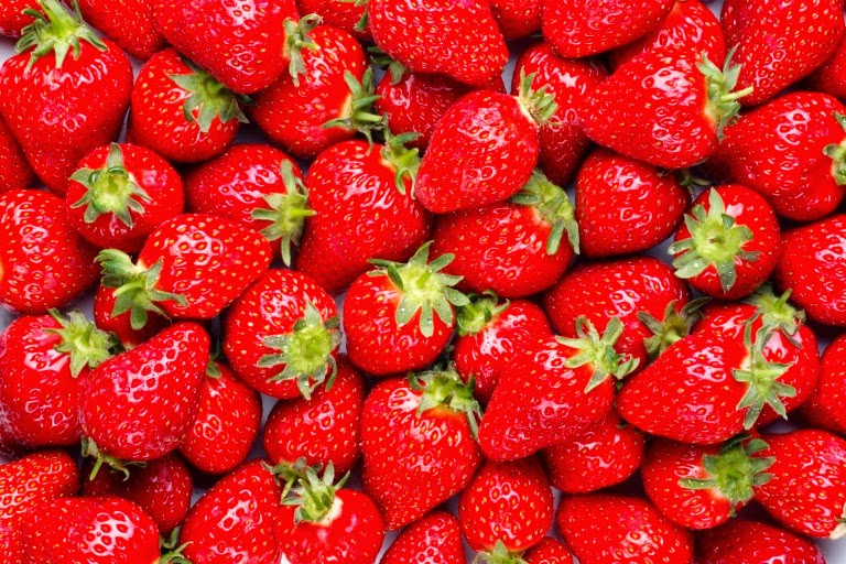 Utilize Strawberry for puffy eyes