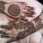 girls arms mehndi designs 2016