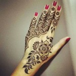 party wear arabic mehndi designs collection