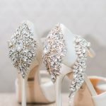 Decorated & shining shoes