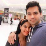 Veena Malik enjoying with her family